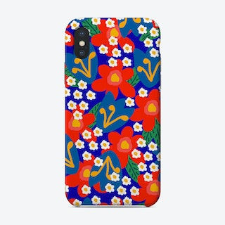 Red Flowers Phone Case
