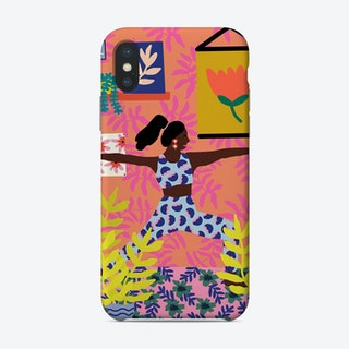 Just Take A Deep Breath Phone Case