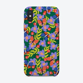 Butterflies At Your Window Phone Case