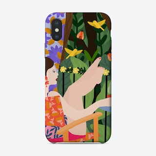 Waiting For The Summer To Come Phone Case