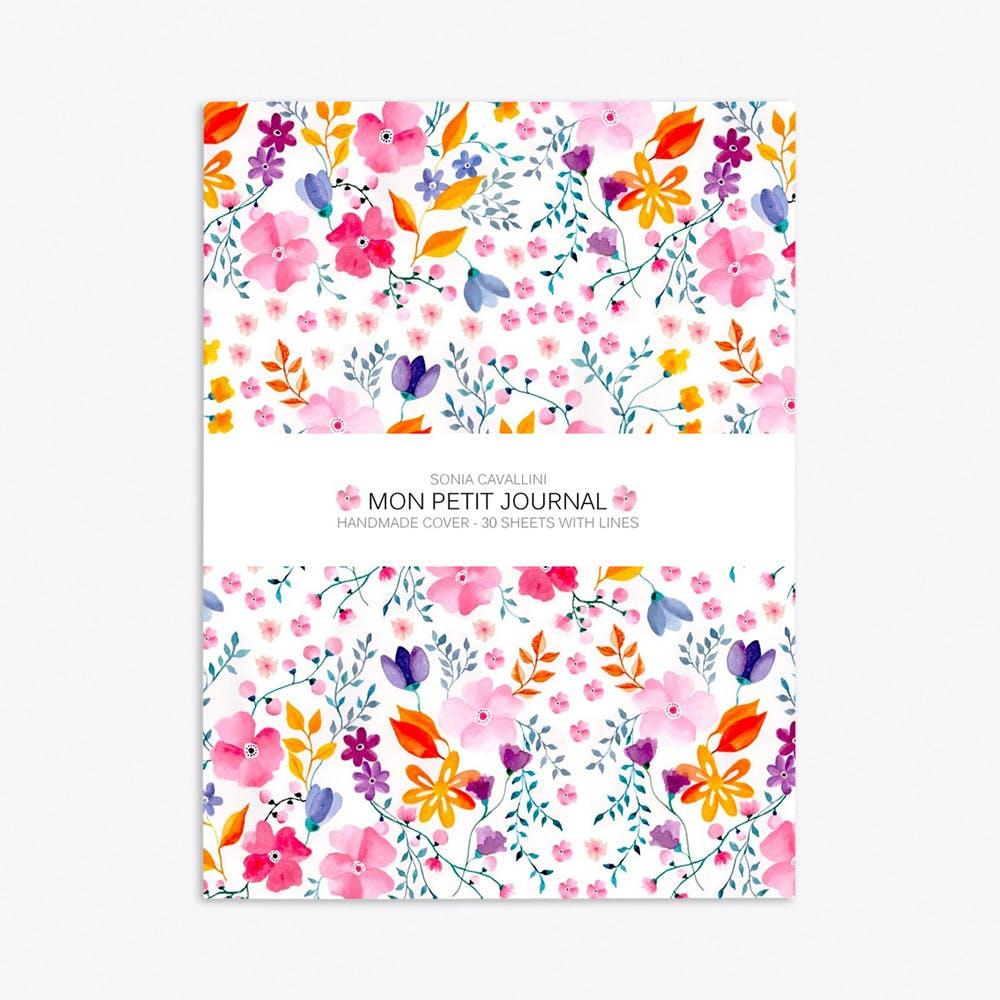 Flowers Notebook A6