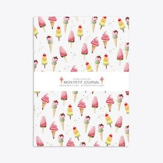 Ice-Cream Notebook A6