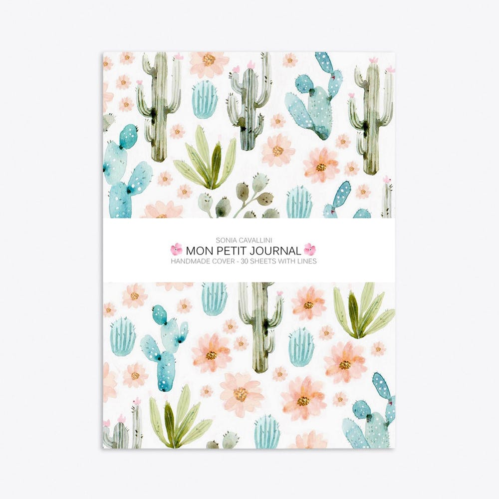 Cactus Notebook A6