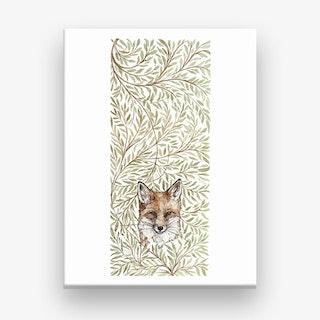 Hedgerow Fox  Canvas Print