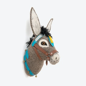 Violet Donkey Head