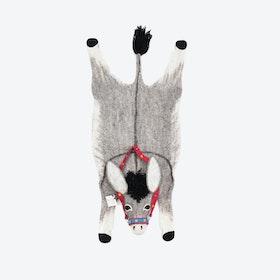 Violet the Donkey Rug