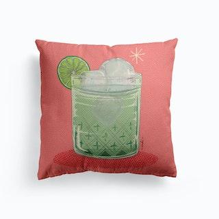Lemon Tonic Cushion