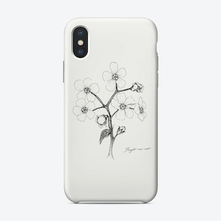 Forget Me Not Phone Case