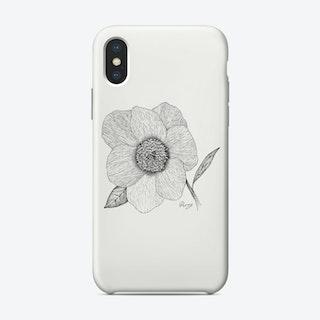 Peony Phone Case