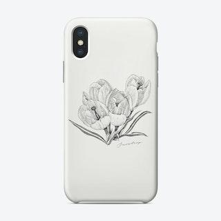 Snowdrop Phone Case