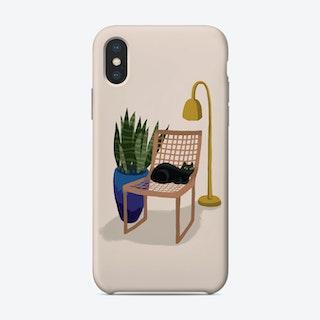 Chair Cat Phone Case