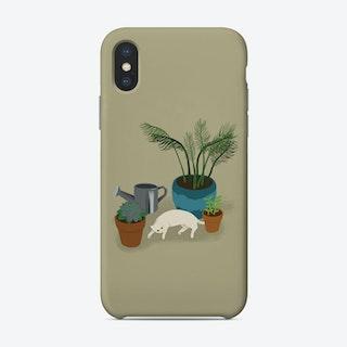 Garden Cat Phone Case