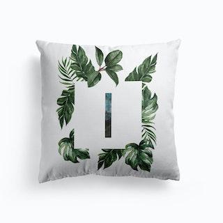 Botanical Alphabet S Cushion