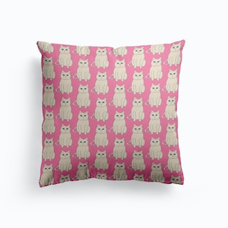 Pink Cats Cushion