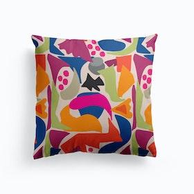 Black Fish Cushion