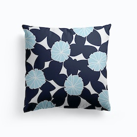 Blue First Day Of Summer Cushion