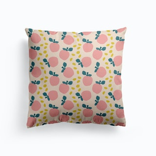 Pink Apples Cushion