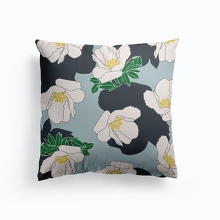 Blue Veronique Cushion