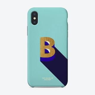Be Gold B Phone Case