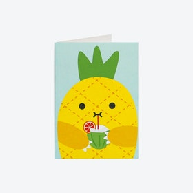 Greeting Card - Riceananas (set of 3)
