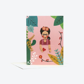 Artist Bookmark Card - Frida Kahlo C (set of 2)