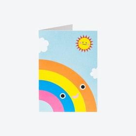 Greeting Card - Rainbow (set of 3)