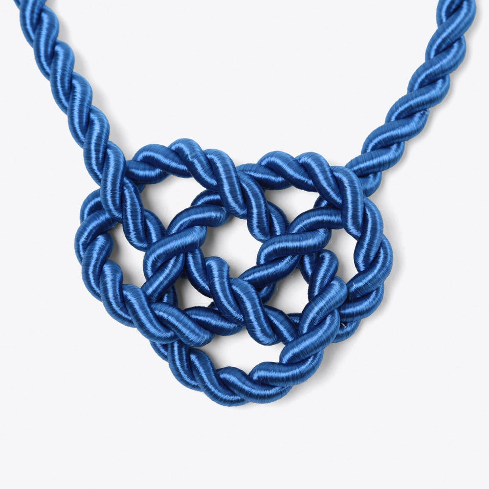 Queen Necklace in Royal Blue