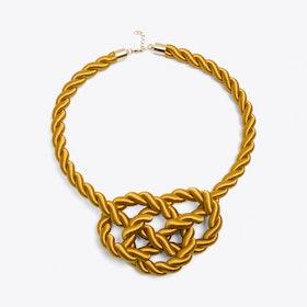 Queen Necklace in Mustard