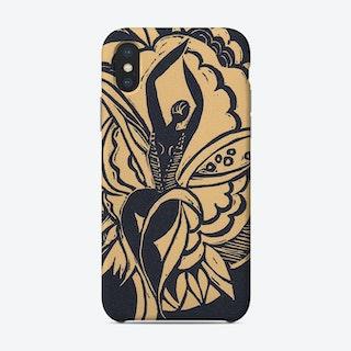 Flower Dancer Yellow Phone Case