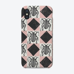 Stripey Bug Phone Case