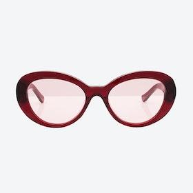 Beverly Sunglasses - Burgundy