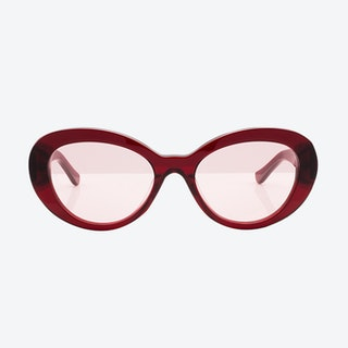 Beverly Sunglasses - Burgundy