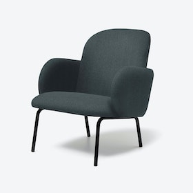 DOST Lounge Chair in Dark Grey