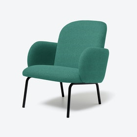 DOST Lounge Chair in Light Green