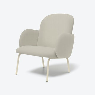 DOST Lounge Chair in Ivory