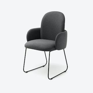DOST Diner Chair in Dark Grey