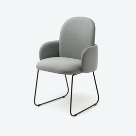 DOST Diner Chair in Light Grey