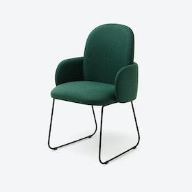 DOST Diner Chair in Dark Green