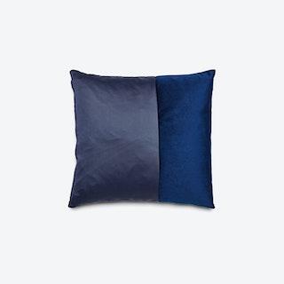 DUO Cushions in Dark Blue