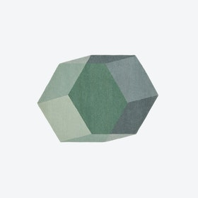 Hexagon ISO Rug in Green