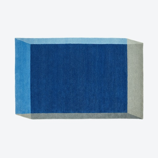 Rectangle ISO Rug in Blue