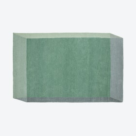Rectangle ISO Rug in Green