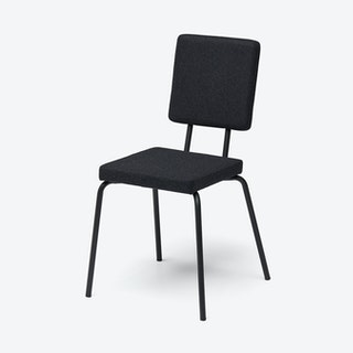 Square Seat and Back OPTION Chair in Black