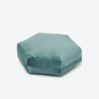 Hexagon PLUS Cushion in Green