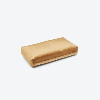 Rectangle PLUS Cushion in Gold