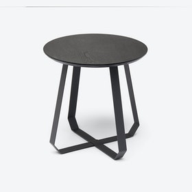 Tall SHUNAN Coffee Table in Black / Black