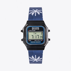 The Rio Digital Watch in Black