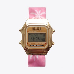 The Buenos Aires Digital Watch in Gold