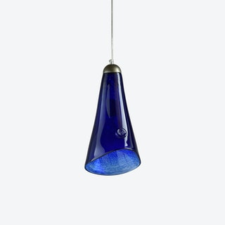HORN Pendant Light in Navy Blue