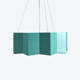 BIG STAR Pendant Light in Turquoise